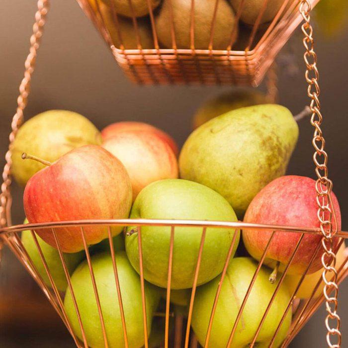 Kitchen Storage: Better in a Basket