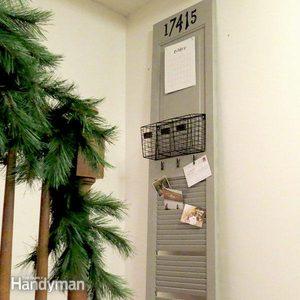 Easy-to-Build DIY Mail Organizer