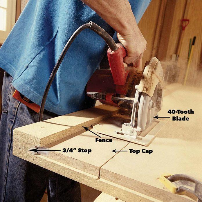 cut side trim and cap trim