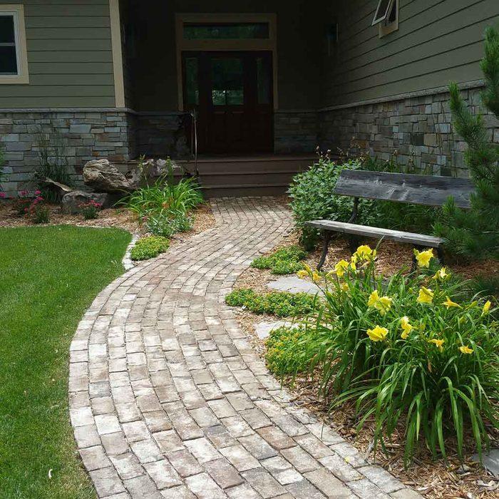 Stone Outdoor Walkway