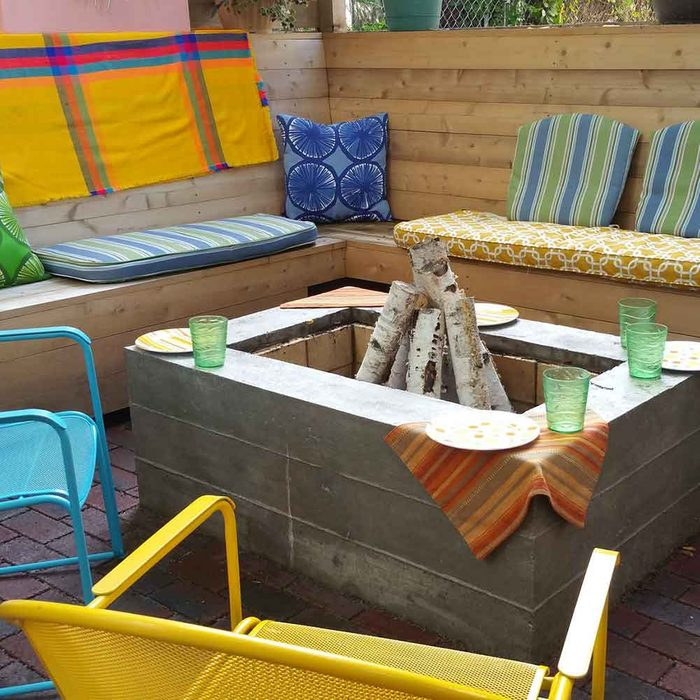 The Quintessential Backyard Hardscape: Outdoor Fireplace