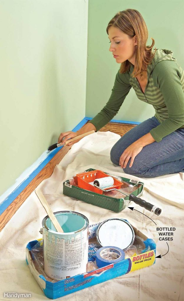 Mess-Proof Painting