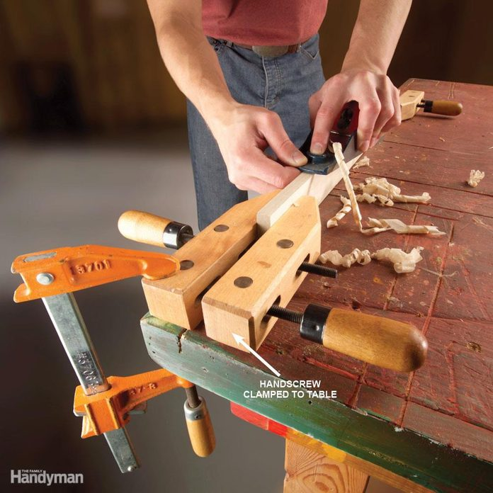 Instant Bench Vise