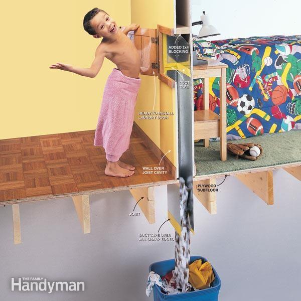 laundry chute door