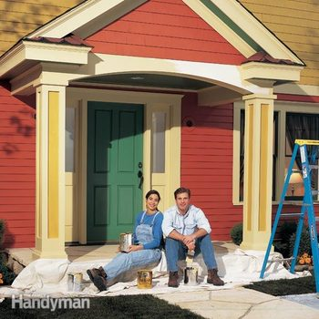 exterior painting, exterior house painting, painting a house