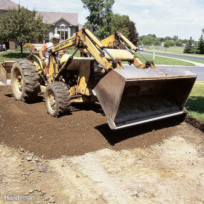 How are you planning to prepare the base for the asphalt?