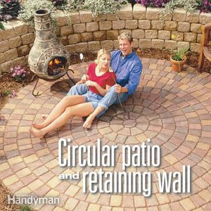 Build a Circular Patio and Retaining Wall