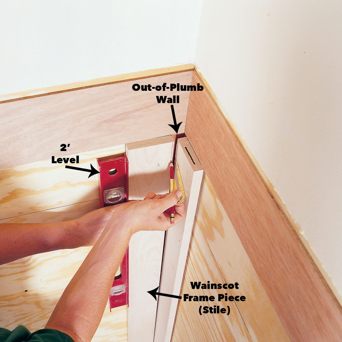 scribe Wainscoting