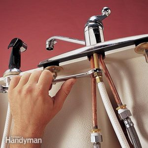 Replace a Sink Sprayer and Hose