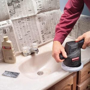 How to Renew a Scratched Countertop