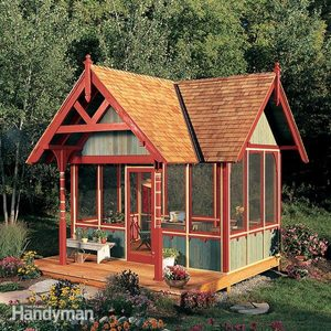 Build a Victorian Screen House