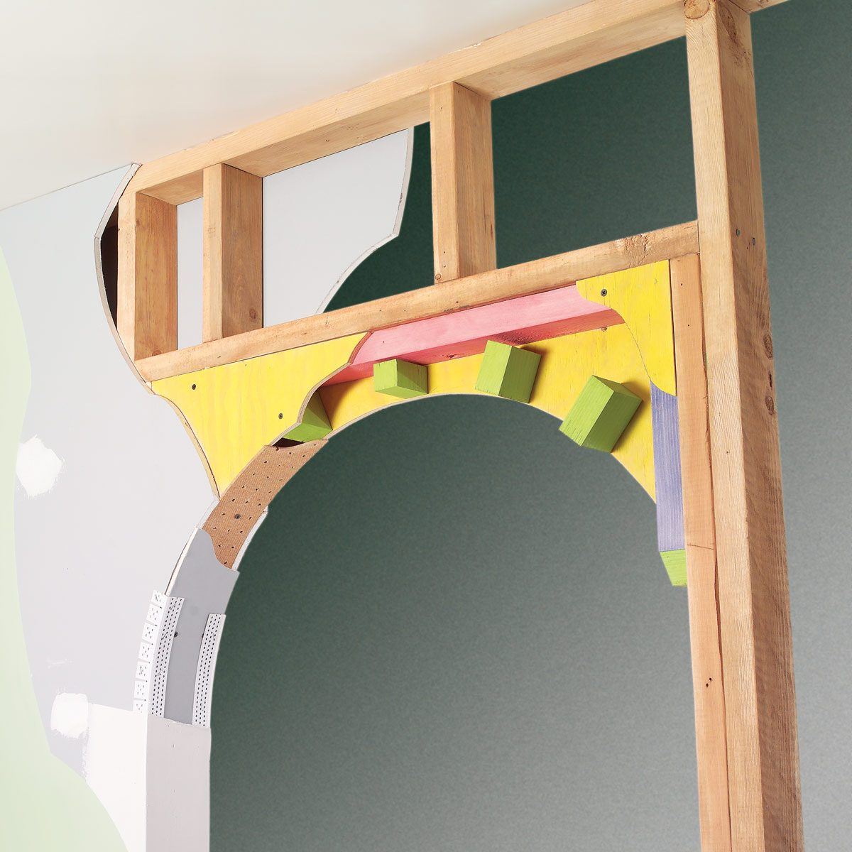 doorway drywall arch