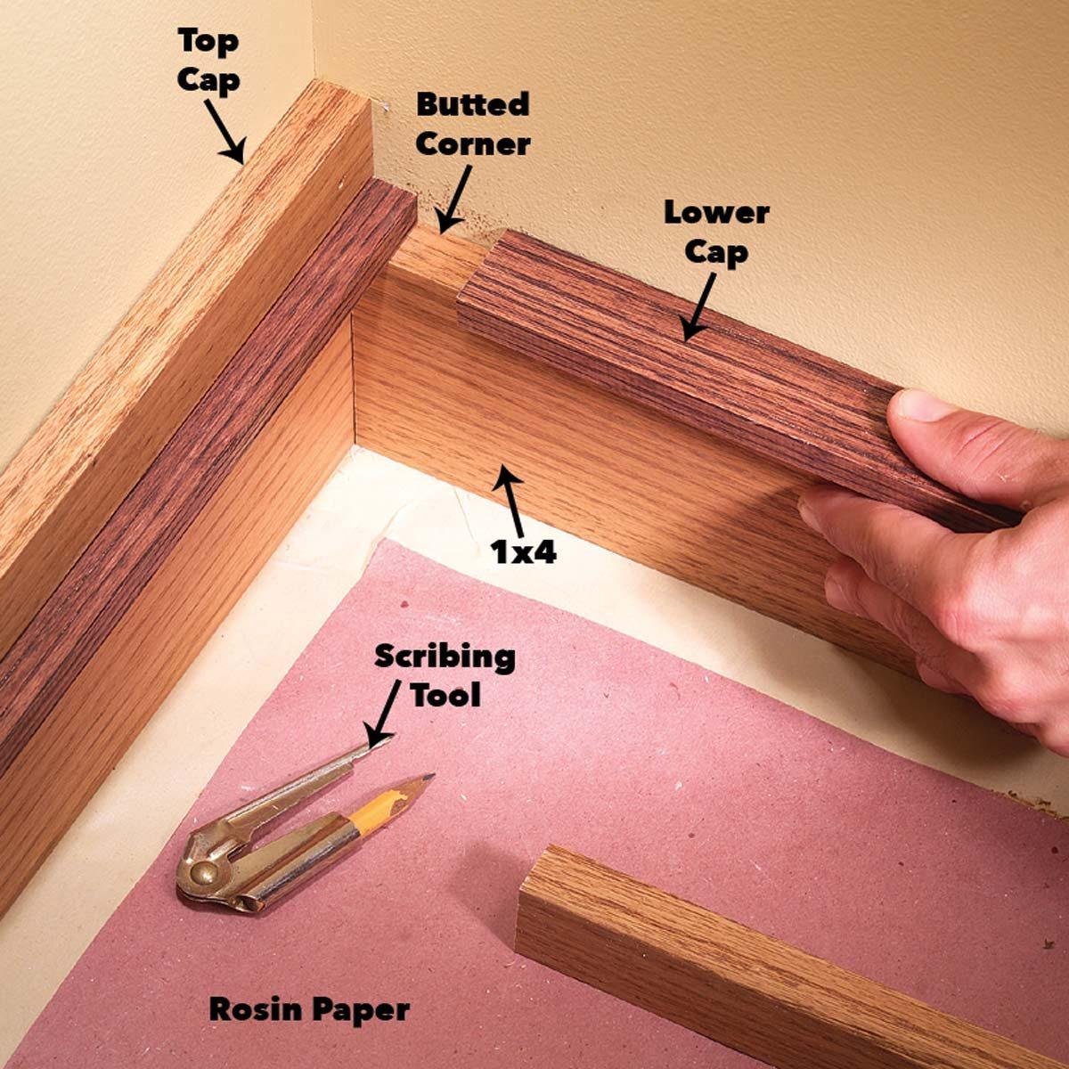 install baseboard