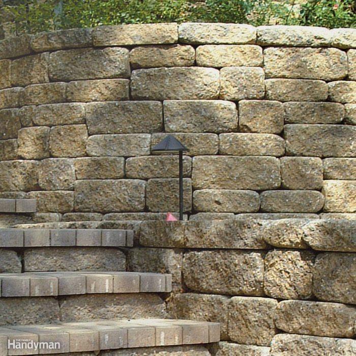 Tall walls need engineering