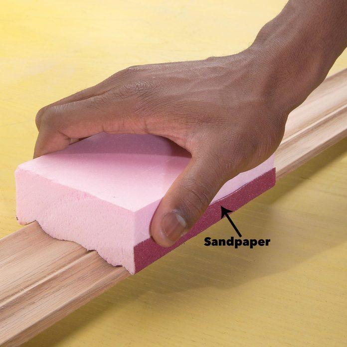 customized sanding block