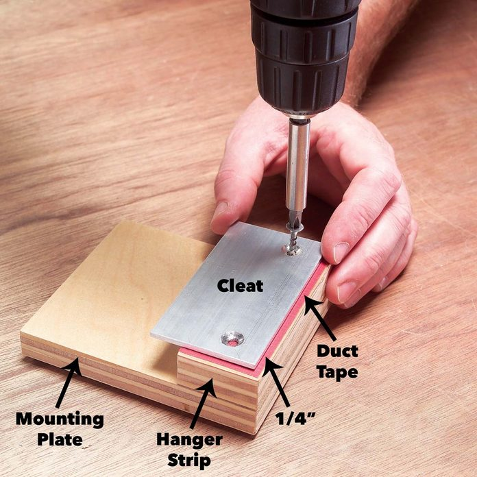 assemble mounting plates