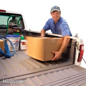 How to Roll on Bedliner Paint in a Pickup Truck