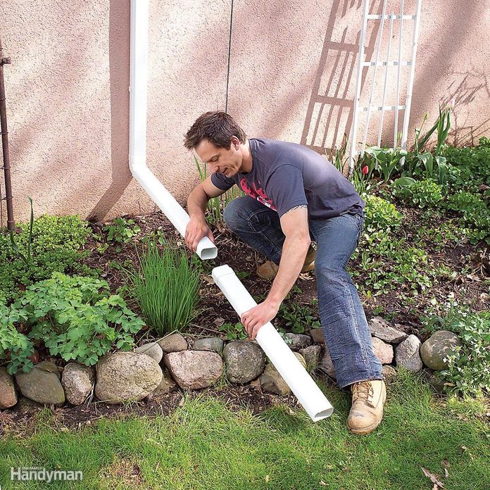What size downspouts are you going to install?
