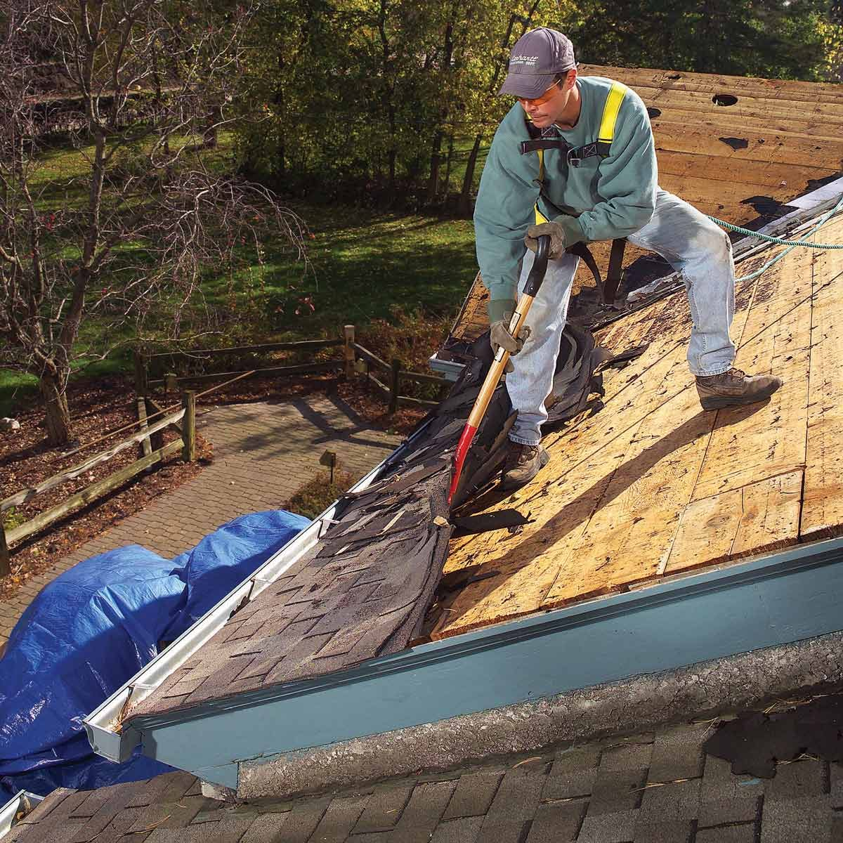 How To Tear Off Roof Shingles roofing tear off tools tear off shovel