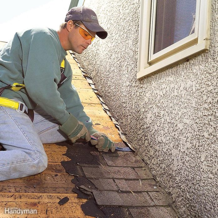Will you replace damaged or rusted flashing?