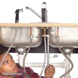 How to Fix a Leaking Sink Sprayer