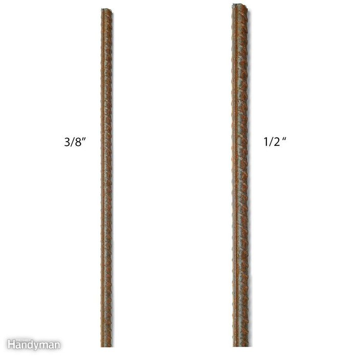 Do you plan to add rebar to reinforce the concrete?