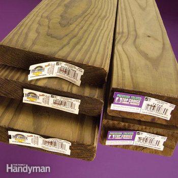 FH07DJA_IDLUMB_01-2 types of pressure treated wood