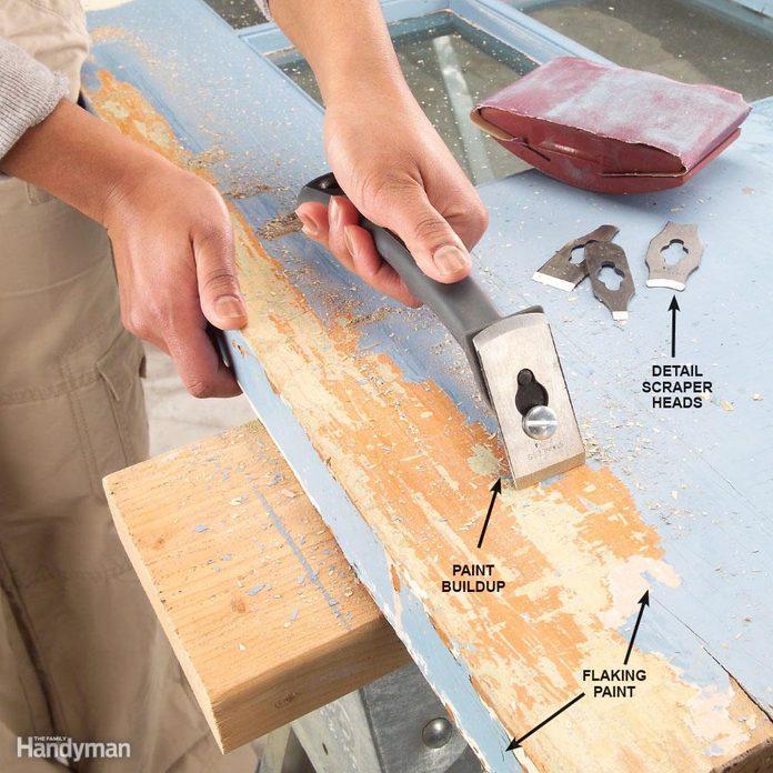 Beware of paint buildup