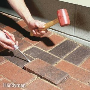 Raising Patio Pavers