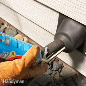 Energy Savings: Seal Plumbing and Wiring Holes