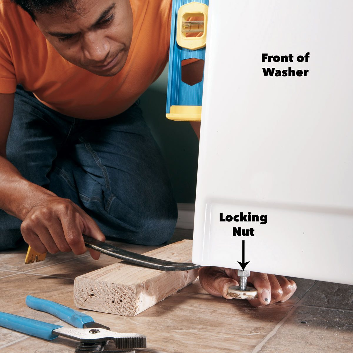 stop washing machine vibration how to balance a washing machine