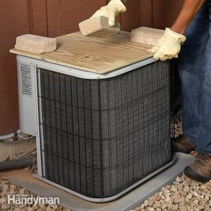 Covering Your Air Conditioner Condenser Unit