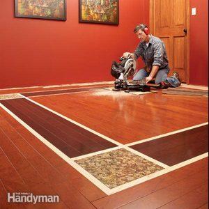 DIY Hardwood Floors: Lay a Contrasting Border