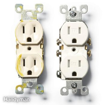 two prong outlets