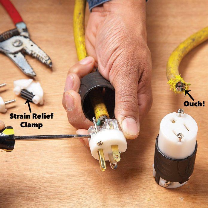extension cord repair