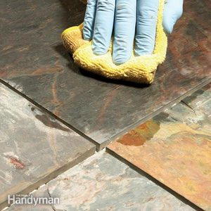 Grouting Tile Floors: Porous and Uneven Tiles