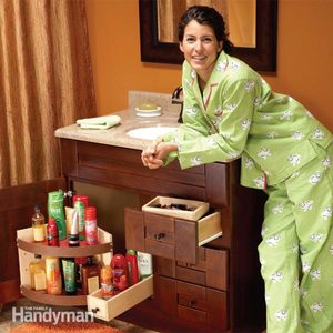Bathroom Vanity Storage Upgrades