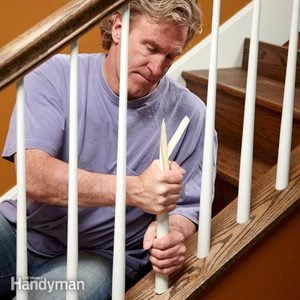 How to Install Stair Spindles