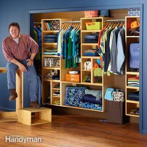 Organization: The Closet