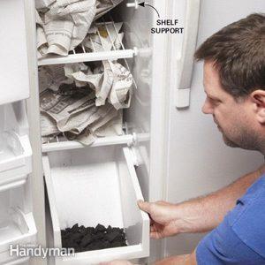 Clean a Stinky Fridge
