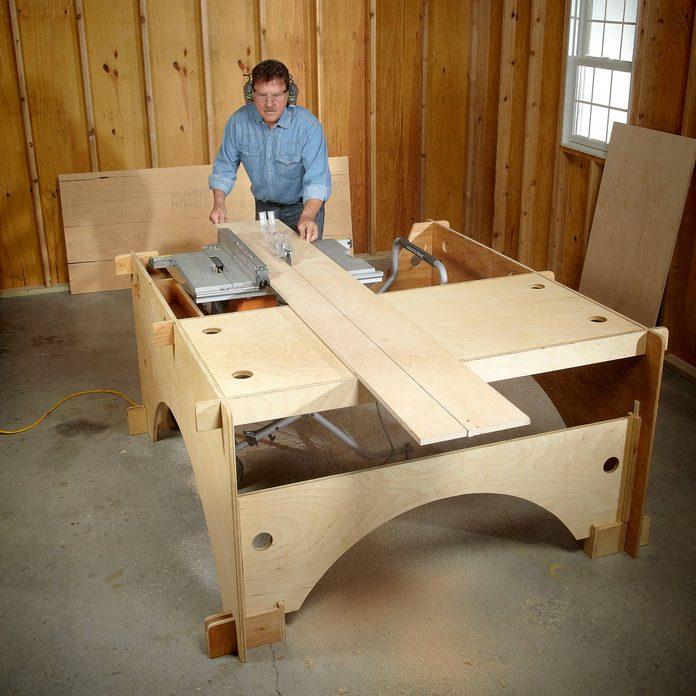 DIY table saw table