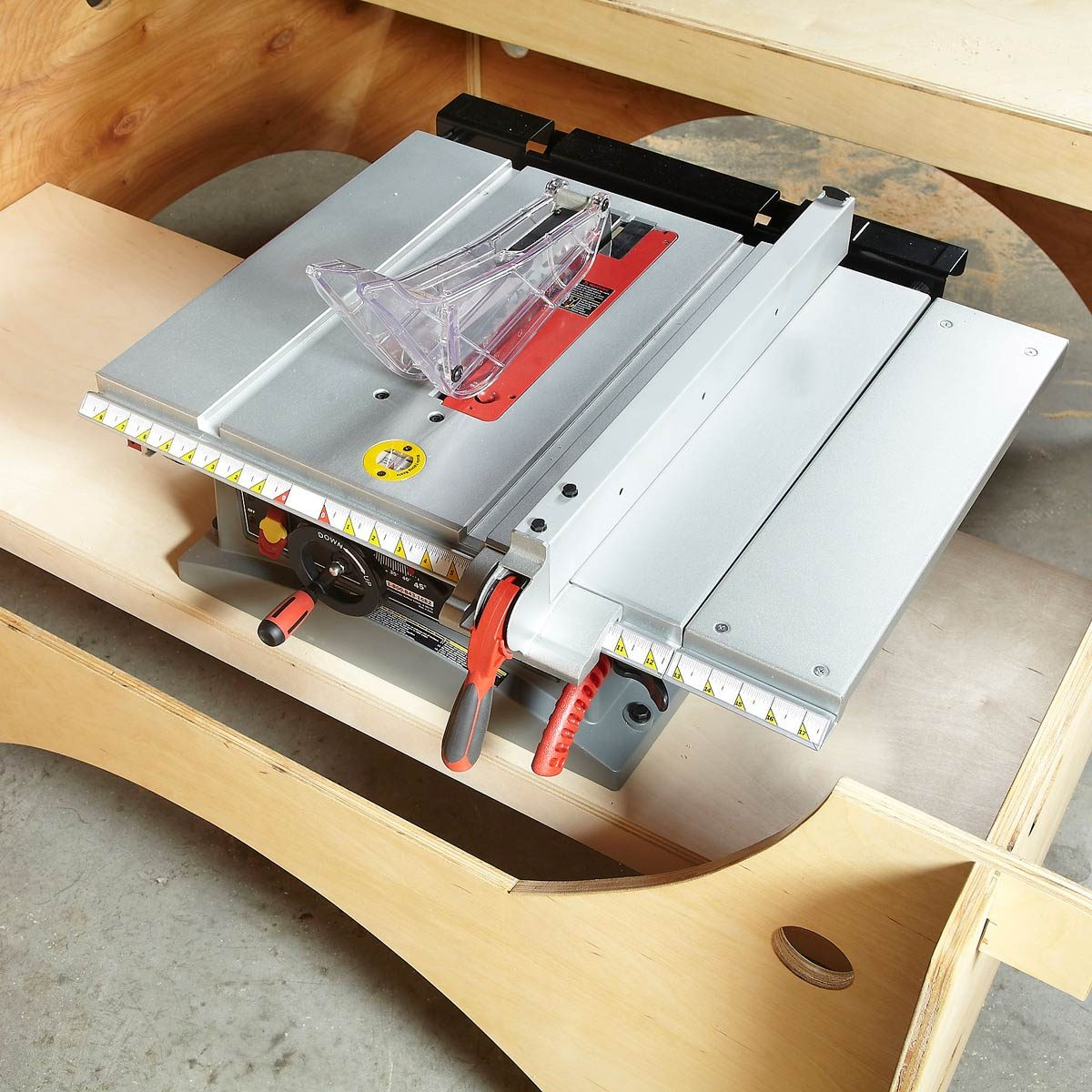 bench top saw table saw table