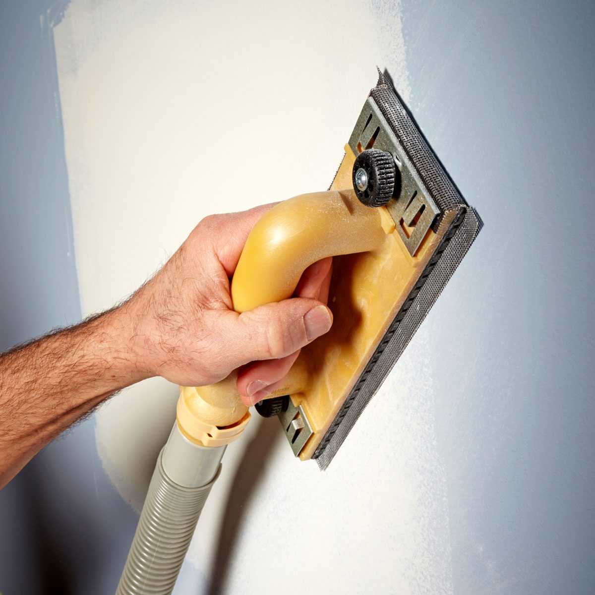 Capture dust at the source How to Sand Drywall