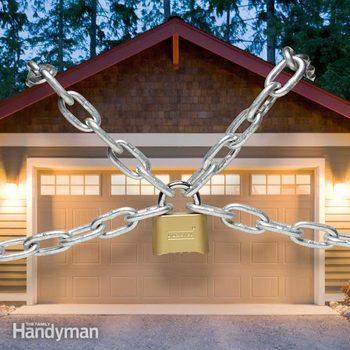 garage door lock