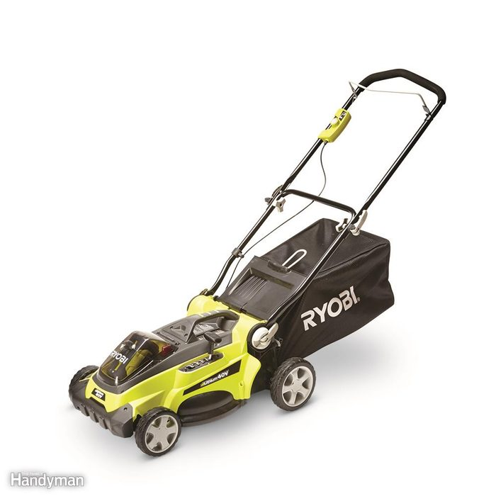 Don't forget electric mowers