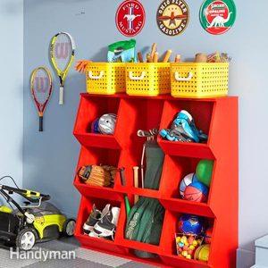 DIY Toy Storage Bins