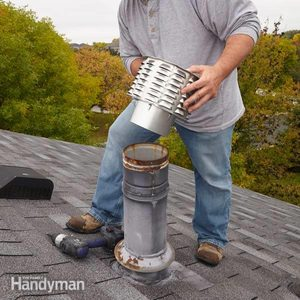 How to Replace a Rain Cap