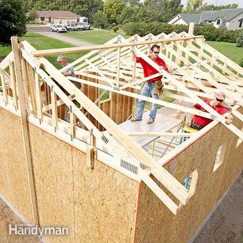 how to build a garage