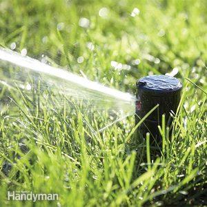 Replacing Broken Lawn Sprinkler Heads