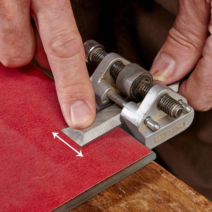 remove wire edge chisel